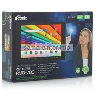 интернет-планшет Ritmix RMD-785, 8Gb, 7.85'' IPS 1024x768, Quad-core, черный